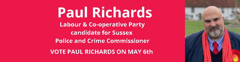 Paul Richards for Sussex PCC